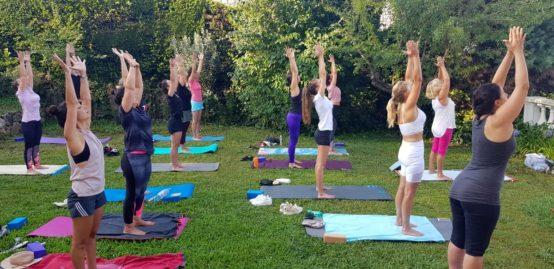 Petit dejeuner yoga